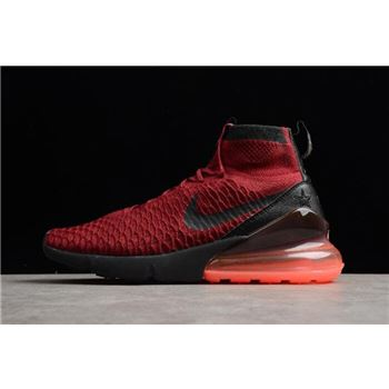 cheap for discount 59cfc 63a36 Nike Air Footsacpe Magsta Flyknit 270 Team Red White AA6560-600 On Sale